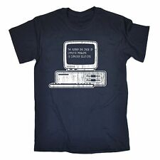 The Number 1 Cause Of Computer Solutions T-SHIRT It Gamer Funny Gift Birthday