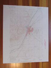 Ephrata Washington 1957 Original Vintage USGS Topo Map
