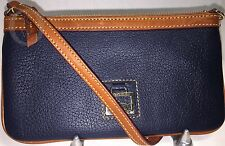 *Dooney & Bourke*Navy Large Slim Wristlet*Dillen Leather*Wallet 17084B S167A