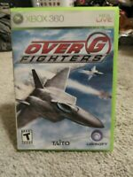 Over G: Fighters (Microsoft Xbox 360, 2006) Complete CIB - Tested and Working