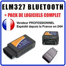 Câble / Interface ELM 327 BLUETOOTH - Diagnostic AUTO - LOGICIEL EN FRANCAIS