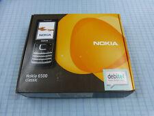 Original Nokia 6500 Classic Schwarz! Ohne Simlock! TOP ZUSTAND! OVP! RAR!