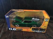 1:24 JADA Dub City BigTime Muscle 1969 Chevy Chevelle SS Candy Green.