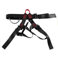 Professional Rock Climbing Downhill Harness Rappel Rescue Safety Belt Tools LOT
