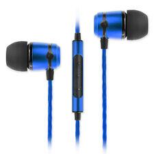 SoundMAGIC E50C In Ear Isolating Earphones with Mic - Blue - NEW