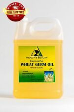 WHEAT GERM OIL REFINED ORGANIC by H&B Oils Center COLD PRESSED 100% PURE 7 LB