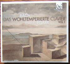 BACH Das Wohltemperierte Clavier Vol.1 2 CD DigiPack NEW & SEALED Richard Egarr