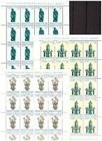 S19543) Vatican 1987 MNH New Lithuania 1987 3v Sheet not Folded