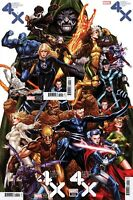 Marvel X-Men Fantastic Four Mark Brooks Connecting 1-4 Variant Complete Set NM