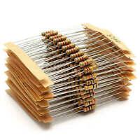 300x 30value 1ohm - 3M ohm 1/2W Carbon Film Resistor Capacitor Assortment Kits