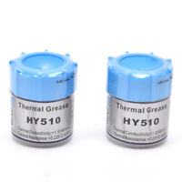 2PCS HY510 10g Grey Thermal Conductive Grease Paste For CPU GPU Cooling、Fad
