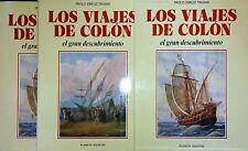 PAOLO EMILIO TAVIANI LOS VIAJES DE COLON EL GRAN DESCUBRIMIENTO PLANETA AGOSTINI