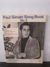 PAUL SIMON SONG BOOK NO 3 Pattern Music Ltd SHEET MUSIC Free UK Post