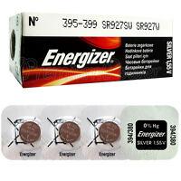 4 x Energizer 395 399 batteries Silver Oxide 1.55V SR927SW SR57 Watch