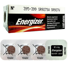 4 x Energizer 395 399 batteries Silver Oxide 1.55V SR927SW SR57 Watch EXP:2020