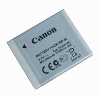 NB-6L Genuine Canon NB-6L Li-Ion Battery for Canon PowerShot SX260 HS Camera