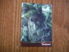 Richard Taylor Autographed Lord of the Rings Card Hand Signed LOTR Treebeard
