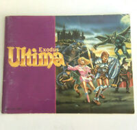 Ultima Exodus NES Game Instruction Booklet Manual Only Good Condition