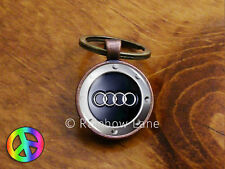 Handmade Audi Car Keychain Key Chain Case Key Ring Accessories Gift