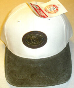 Florida State Seminoles 90s Vintage Strapback hat Suede Bill Metal Logo New Ncaa
