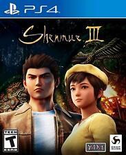 Shenmue 3 Sony PlayStation 4 [Region Free, Yu Suzuki, Martial Arts] NEW