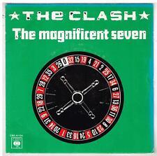 """The CLASH    The magnificent seven    7"""" 45 tours SP"""