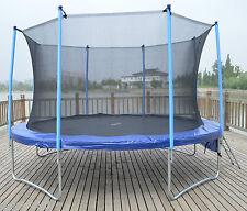 12ft Trampoline Plus Safe Internal Safety Net Enclosure Ladder and Rain Cover