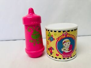 Fisher Price Little Mommy Baby Accessories Bottle Pretend Play Preschool Toys
