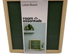 Attn: Teachers And Moms New! 12x 12 Letter Board Green Includes 180 Letters