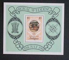 Antigua 1981 Royal Wedding MS Miniature Sheet MNH UM unmounted
