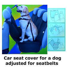 Sicurezza AUTO POSTERIORE SEDILE POSTERIORE coprire CANE GATTO PET SEAT PROTECTOR Hammock Mat Liner A2