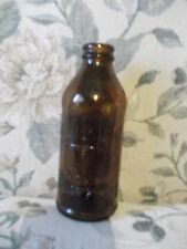 Vintage 5.5 x  2.5 amber brown CERTO Glass Bottle - #4  & 5670 on the bottom