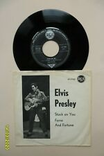 Elvis Presley Very Rare 1960 VG+ Danish Stuck On You / Fame and Fortune Denmark
