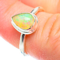 Ethiopian Opal 925 Sterling Silver Ring Size 5.25 Ana Co Jewelry R52206F