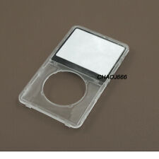 Transparent Clear front faceplate housing case cover fr ipod 5th video 30gb 80gb