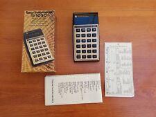 Texas Instruments TI-1050 Electronic calculator - Calculadora Vintage