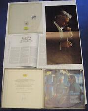 Beethoven 9 sinfonie - Karajan 8+1 LP mint Ediz. ITA signed signiert autografata