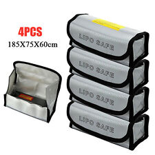 4X RC LiPo Safe Battery Guard Charging Protection Bag Explosion Proof Sack New