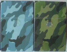 (4) Plastic Push Open Camo King Size Cigarette Cases, 3116C1-4