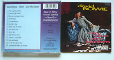 DAVID BOWIE - When I live my dream - CD