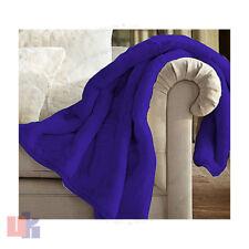 Luxury Faux Fur Sofa Bed Mink Throw Warm Fleece Blanket Single Double King Size