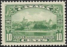 Canada   # 215    WINDSOR CASTLE    Brand New 1935 Pristine Gum Issue