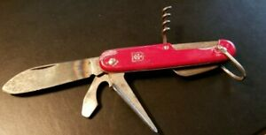 Vintage 1970s Colonial Swiss Master Pocket knife - USA's answer to SAK LOW PRICE