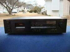 Awesome Nakamichi Cr-1A 2-Head Single Stereo Cassette Deck - Tested!