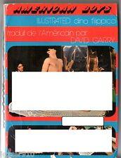 LOT GAY ¤ JOHN MILLER - AMERICAN BOYS ¤ PHOTOS FILIPPICCI + 30 PHOTOS/CPS N&B