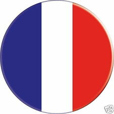 5 x sticker 5cm auto moto velo valise pc portable drapeau Rond France-Francia