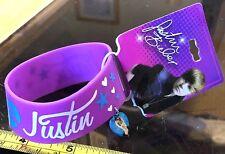 I Heart Purple Justin Bieber Bracelet JB Wristband Claires New RRP £4.50