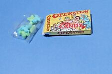 Vtg OPERATION GAME Candy in box, new old stock NOS FREE SHIPPING!