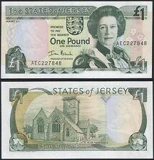 Jersey 1 pound 2000 p26b unc