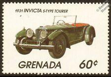 1931 INVICTA S-Type Tourer Car Automobile Mint Stamp